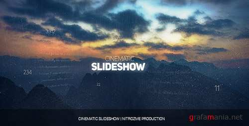 Cinematic Slideshow 17922075 - Project for After Effects (Videohive)