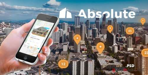 Absolute - Real Estate PSD Template 17205299