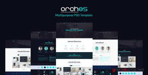 Orches – Multipurpose PSD Template 7354397
