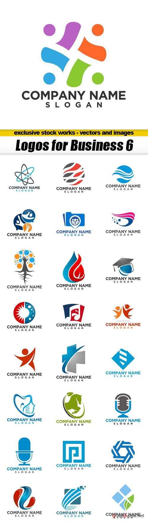 Logos for Business 6 - 25xEPS