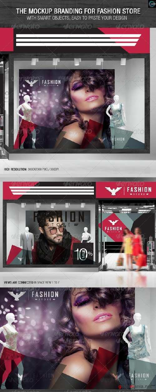 The Mockup Branding for Fashion Store - 7822738