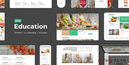 Education Food - Education Learning For Education Courses School PSD 16280915