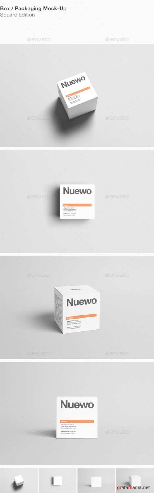 Box / Packaging Mock-Up - Square - 14190730