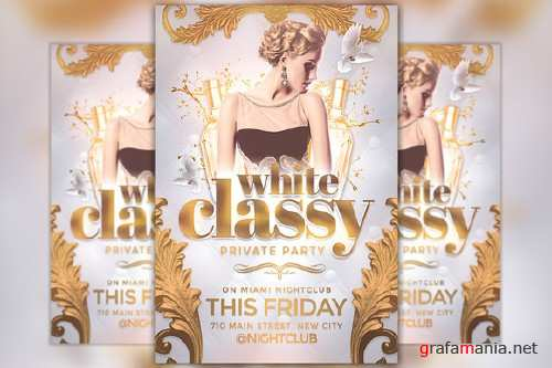 Classy Party Flyer Template - 842841