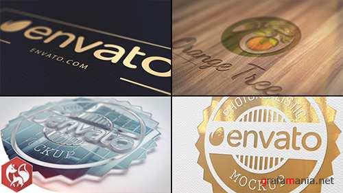 Realistic Logo 16659503 - Project for After Effects (Videohive)