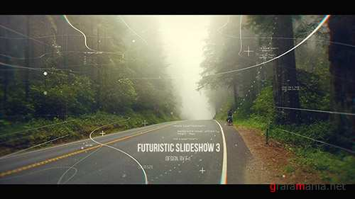 Futuristic Slideshow 3 - Project for After Effects (Videohive)