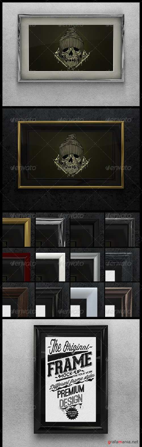 Artwork Frame Mock-up - 5321491