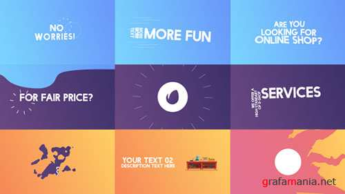 Kinetic Typography 17533582 - Project for After Effects (Videohive)