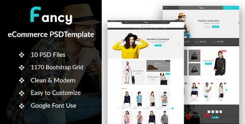 Fancy - eCommerce PSD Template 16682015