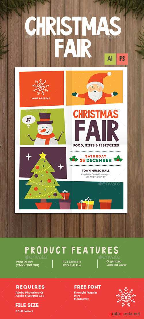 Christmas Fair Flyer 13625122