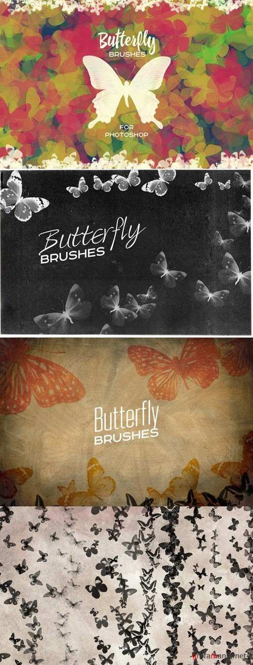 Butterfly Brushes For Photoshop - 806478