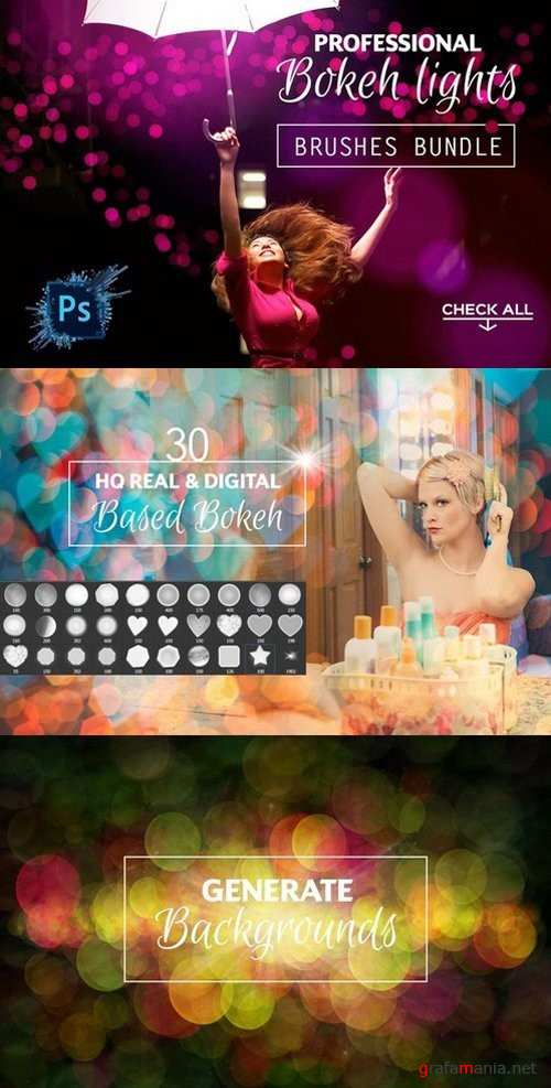 Professional Bokeh Lights Brushes - 925406