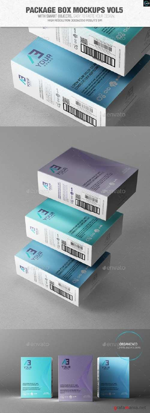 Package Box Mockups Vol5 - 9359830