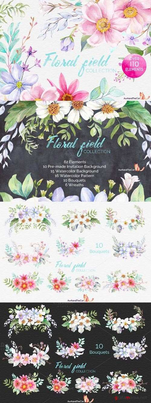 FLORAL FIELD collection - 906511