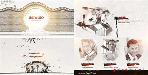 Ink Corporate - After Effects Project (Videohive)