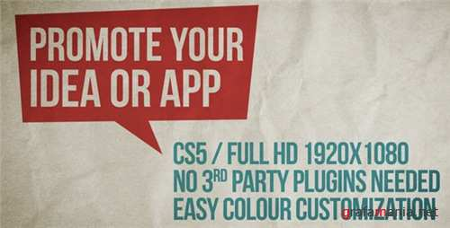 Promote Your Idea, App Or Service - After Effects Project (Videohive)