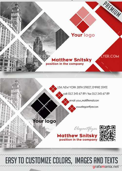 Corporate Business PSD V9 Card Templates