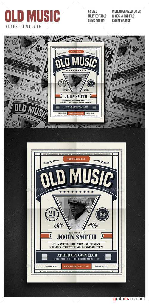 Old Music Flyer 18280994