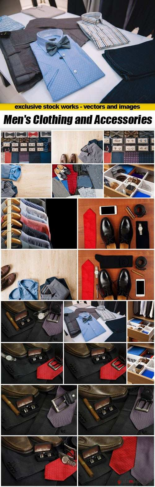 Men's Clothing and Accessories - 20xUHQ JPEG