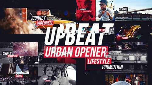 Upbeat Dynamic Urban Opener - Project for After Effects (Videohive)