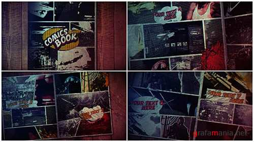 Comics Book 17113666 - Project for After Effects (Videohive)