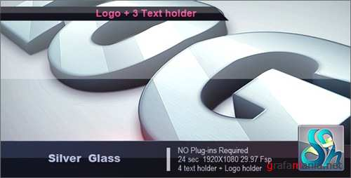 Silver Glass Logo - After Effects Project (Videohive)
