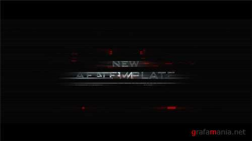 Glitch Trailer - After Effects Project (Videohive)