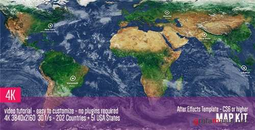Map Kit - After Effects Project (Videohive)