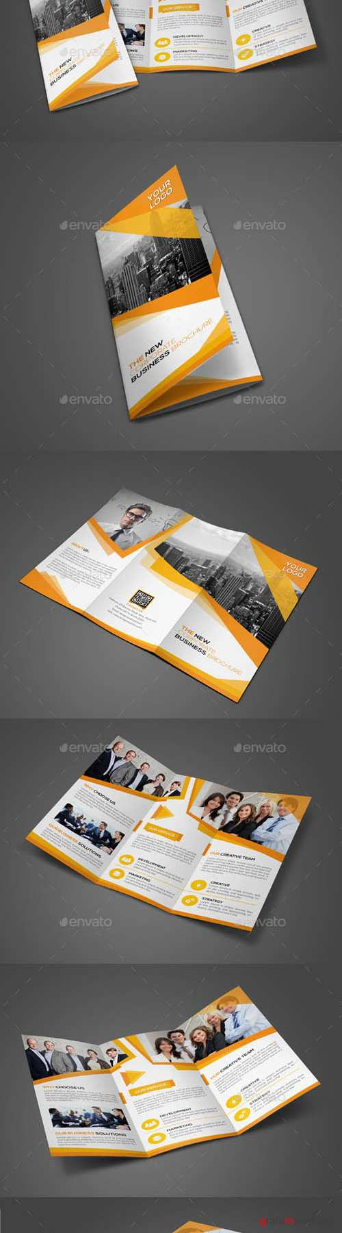 Corporate Trifold Brochure 11439119