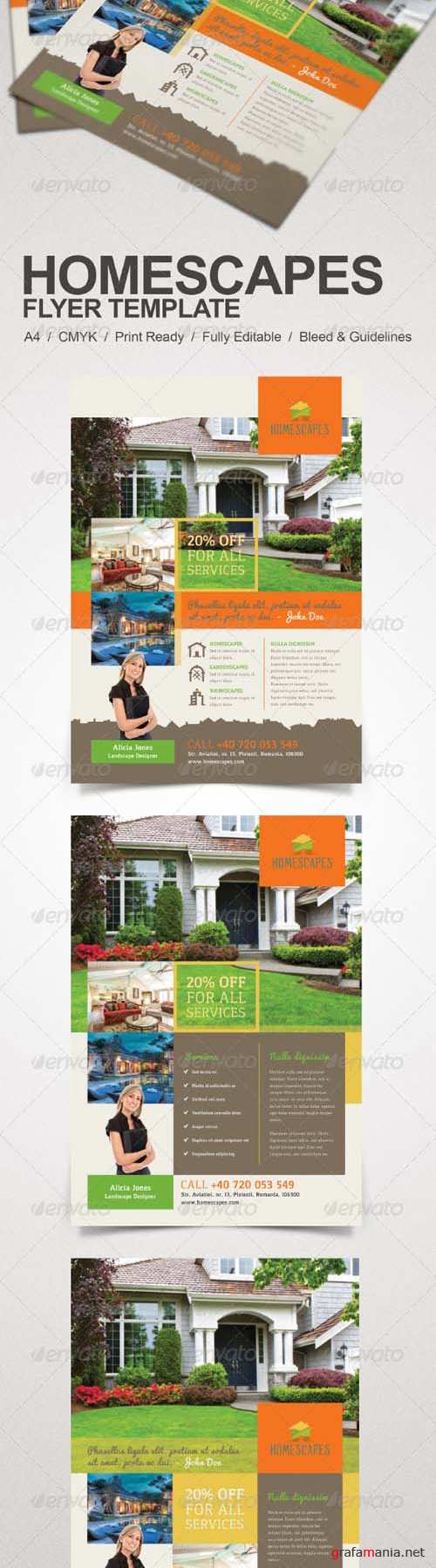 Real Estate and Homescapes Flyer 7864110