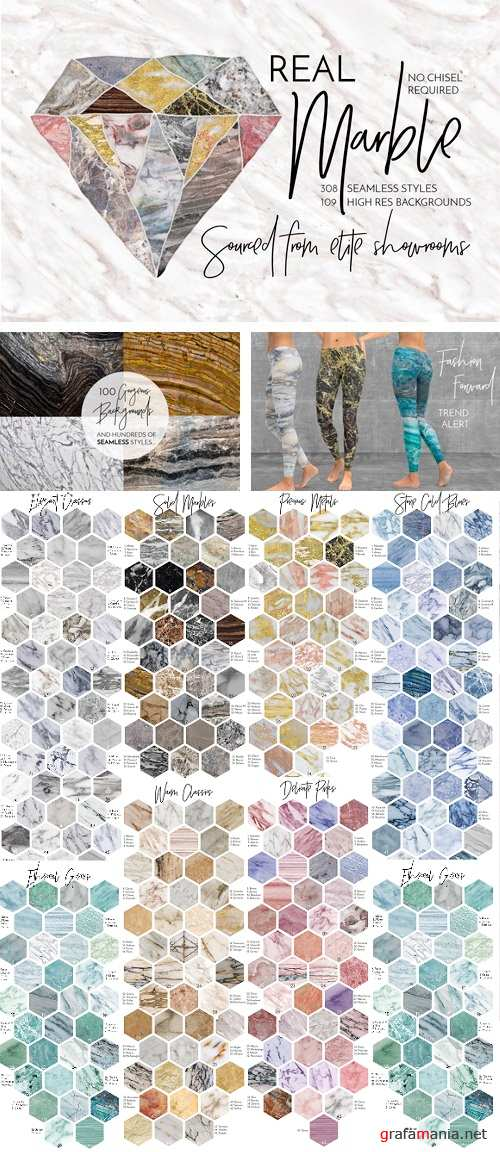 Marble Backgrounds & Styles - 909321