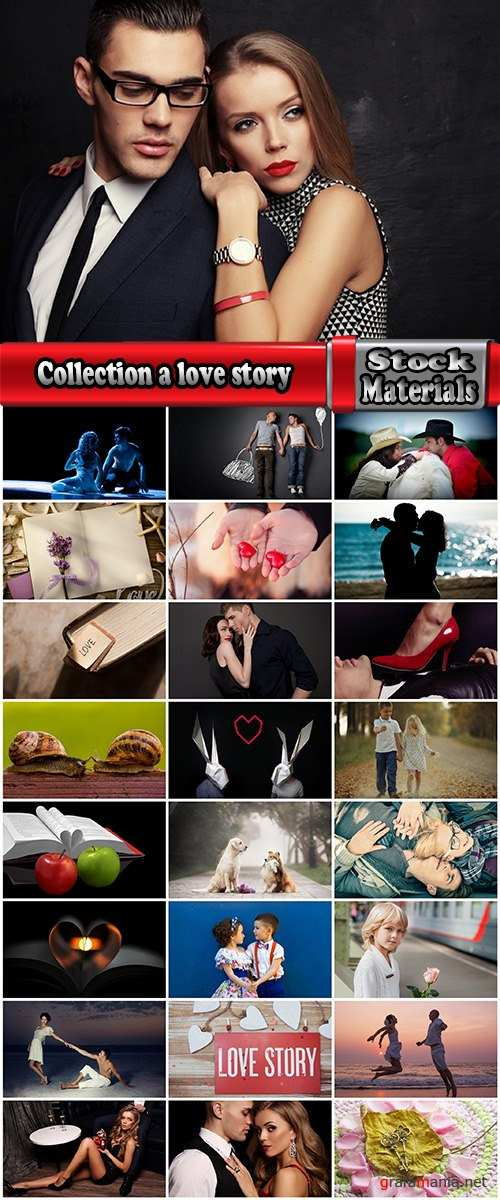 Collection a love story couple people man woman boy girl conceptual illustration 25 HQ Jpeg
