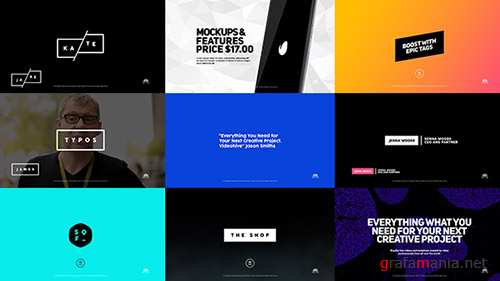 BLADE Titles - Project for After Effects (Videohive)