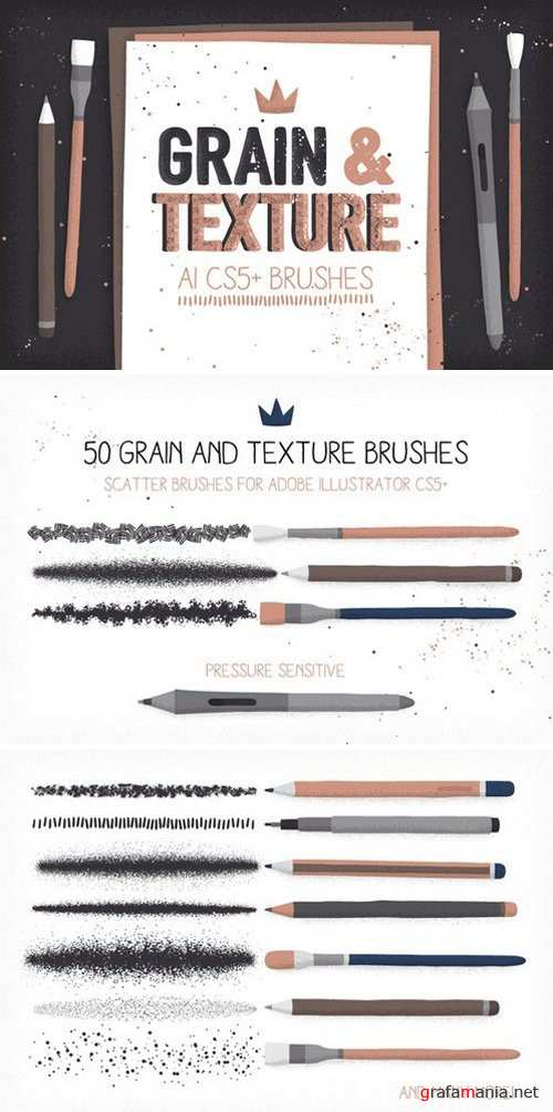 Grain and texture AI brushes - 990208