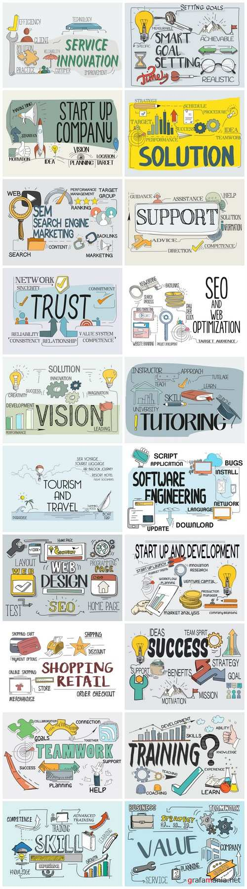 Business & Marketing Concept 2 - 20xEPS