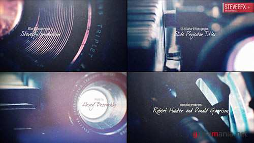 Slide Projector Titles - Project for After Effects (Videohive)