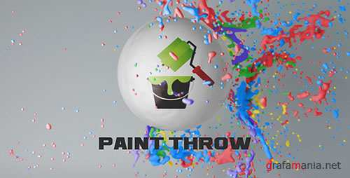 Paint Throw - Project for After Effects (Videohive)