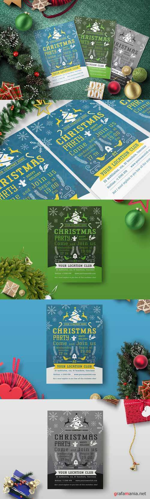 Flyer Template - Christmas Party 2