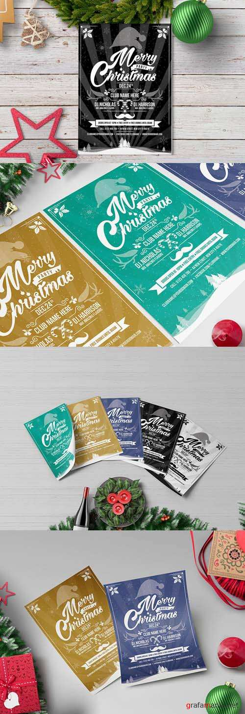 Flyer Template - Christmas Party 3