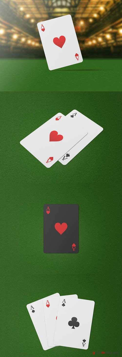 Playing Cards Mock-Up