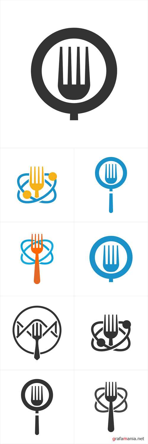 Vector Food Logo Design