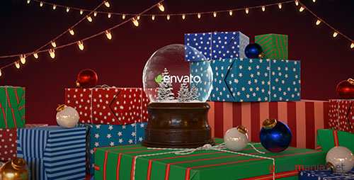 Christmas Snow Globe 18849550 - Project for After Effects (Videohive)