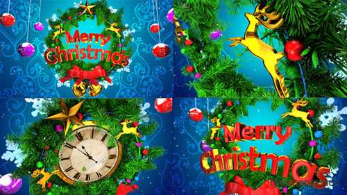 Christmas Opener & Countdown - Project for After Effects (Videohive)