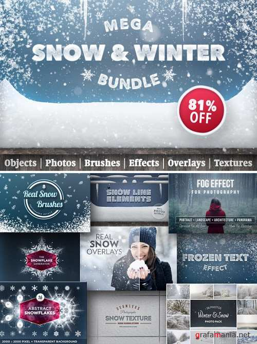 Snow & Winter Bundle - 1072684