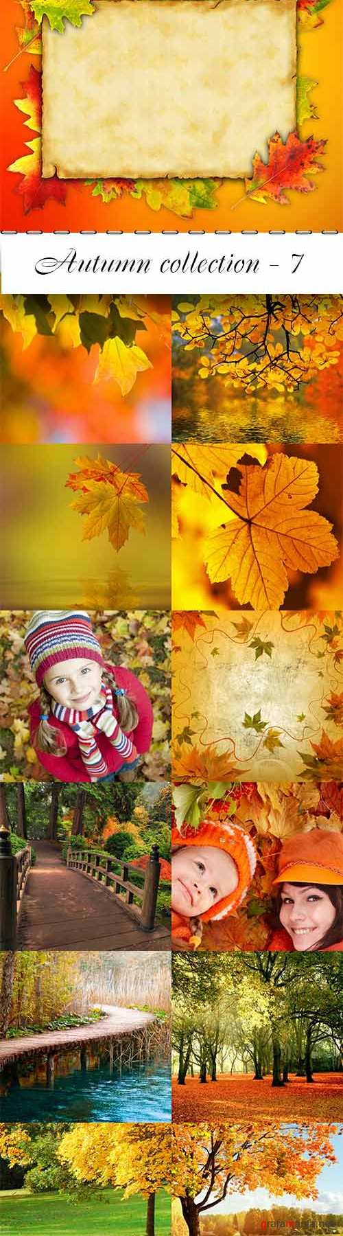 Autumn collection raster graphics - 7