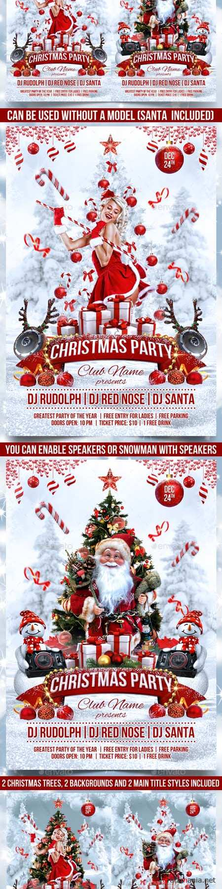 GraphicRiver - Christmas Party Flyer 18616879