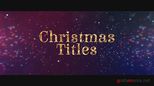 Christmas Titles - After Effects Templates