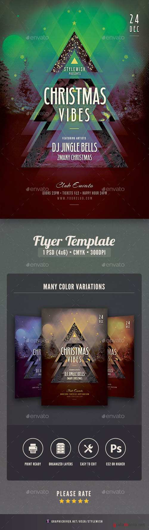 Christmas Vibes Flyer Template 18594700