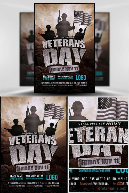 Flyer Template - Veterans Day