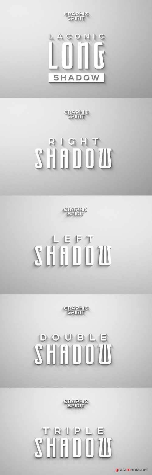 Laconic Long Shadow for Photoshop - 1072481